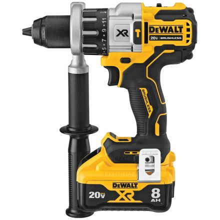 Dewalt DCD998W1 20V MAX* XR 1/2 in. Brushless Hammer Drill/Driver With POWER DETECT™ Tool Technology Kit