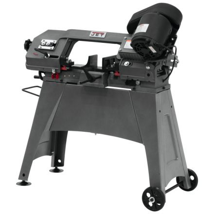 Jet 414458 HVBS-56M 5 Inch x 6 Inch Capacity, 1/2 HP, 1Ph, 115/230V Band Saw (MetalWorking)