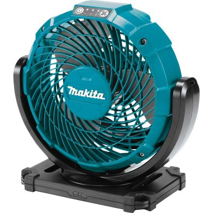 Makita CF100DZ 12V max CXT™ Lithium-Ion Cordless 7-1/8 Inch Fan, 3-spd. (Tool only)