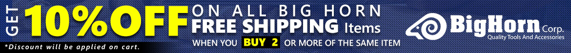 Big horn 10% off on Free Shipping Items