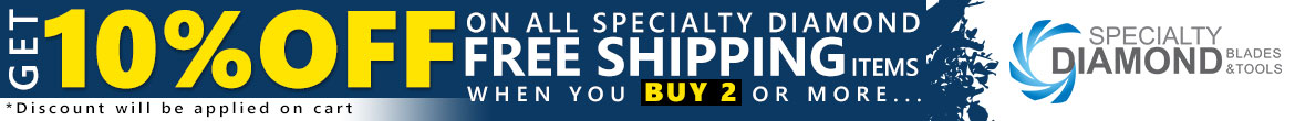 Specialty Diamond 10% off on Free Shipping Items
